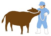畜産のイラスト無料素材