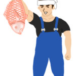 漁師のイラスト無料素材2