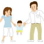 親子のイラスト無料素材1